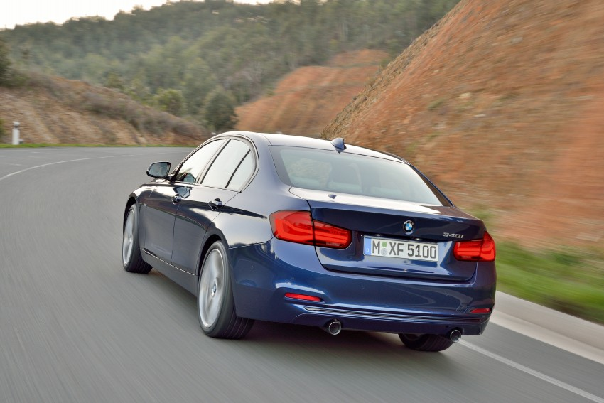 F30 BMW 3 Series LCI unveiled – updated looks, new engine lineup, 330e plug-in hybrid coming 2016 Image #336380