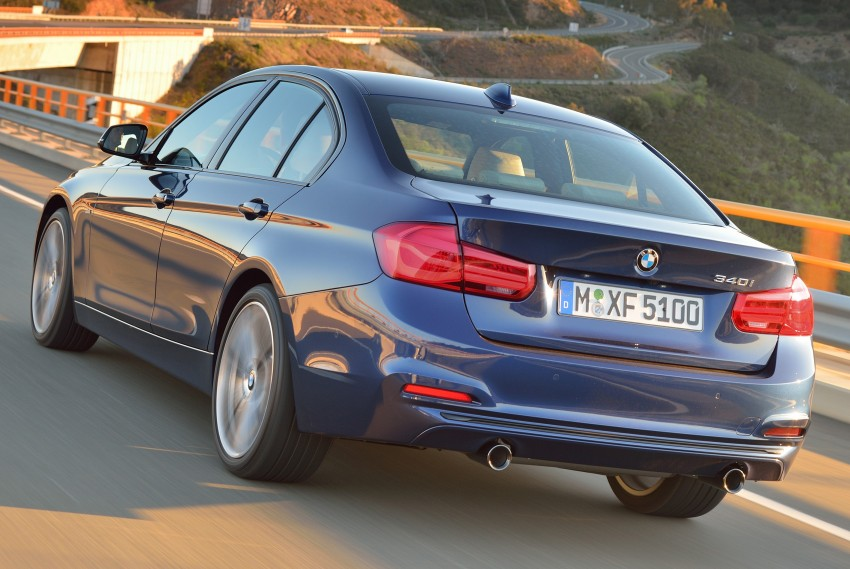 F30 BMW 3 Series LCI unveiled – updated looks, new engine lineup, 330e plug-in hybrid coming 2016 Image #336390