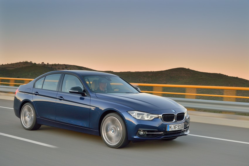 F30 BMW 3 Series LCI unveiled – updated looks, new engine lineup, 330e plug-in hybrid coming 2016 Image #336376