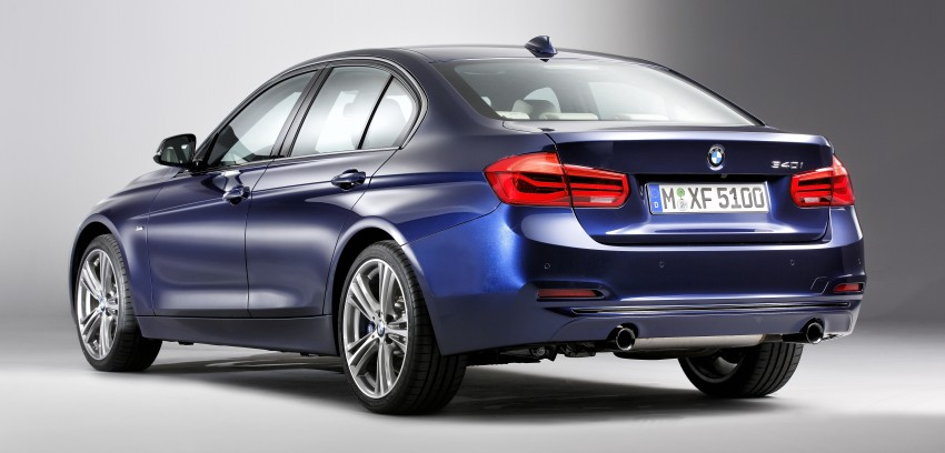 F30 BMW 3 Series LCI unveiled – updated looks, new engine lineup, 330e plug-in hybrid coming 2016 Image #336363