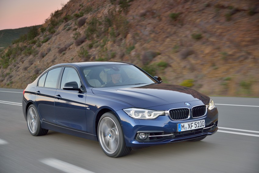 F30 BMW 3 Series LCI unveiled – updated looks, new engine lineup, 330e plug-in hybrid coming 2016 Image #336374