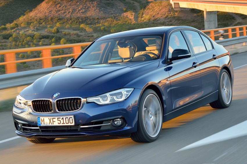 F30 BMW 3 Series LCI unveiled – updated looks, new engine lineup, 330e plug-in hybrid coming 2016 Image #336391