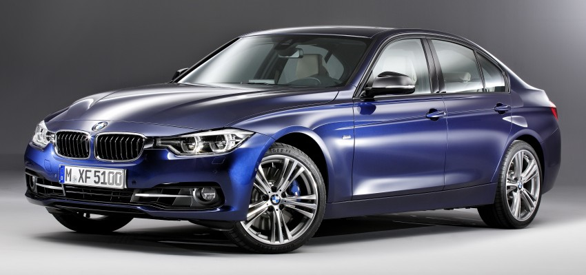 F30 BMW 3 Series LCI unveiled – updated looks, new engine lineup, 330e plug-in hybrid coming 2016 Image #336366
