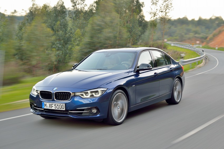 F30 BMW 3 Series LCI unveiled – updated looks, new engine lineup, 330e plug-in hybrid coming 2016 Image #336377