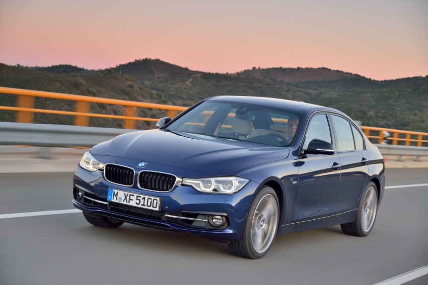 F30 BMW 3 Series LCI unveiled – updated looks, new engine lineup, 330e plug-in hybrid coming 2016 Image #336387