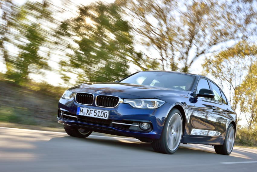 F30 BMW 3 Series LCI unveiled – updated looks, new engine lineup, 330e plug-in hybrid coming 2016 Image #336379