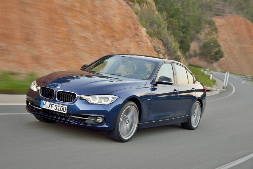 F30 BMW 3 Series LCI unveiled – updated looks, new engine lineup, 330e plug-in hybrid coming 2016 Image #336382