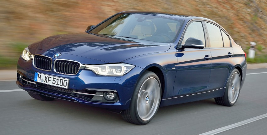 F30 BMW 3 Series LCI unveiled – updated looks, new engine lineup, 330e plug-in hybrid coming 2016 Image #336381