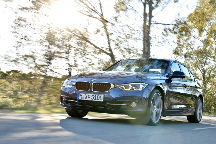 F30 BMW 3 Series LCI unveiled – updated looks, new engine lineup, 330e plug-in hybrid coming 2016 Image #336388