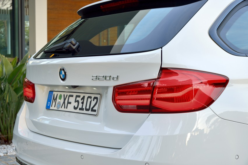 F30 BMW 3 Series LCI unveiled – updated looks, new engine lineup, 330e plug-in hybrid coming 2016 Image #336415
