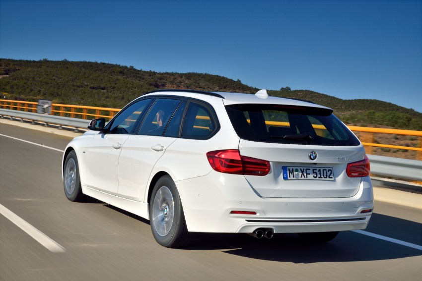 F30 BMW 3 Series LCI unveiled – updated looks, new engine lineup, 330e plug-in hybrid coming 2016 Image #336411