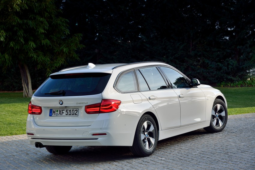 F30 BMW 3 Series LCI unveiled – updated looks, new engine lineup, 330e plug-in hybrid coming 2016 Image #336406