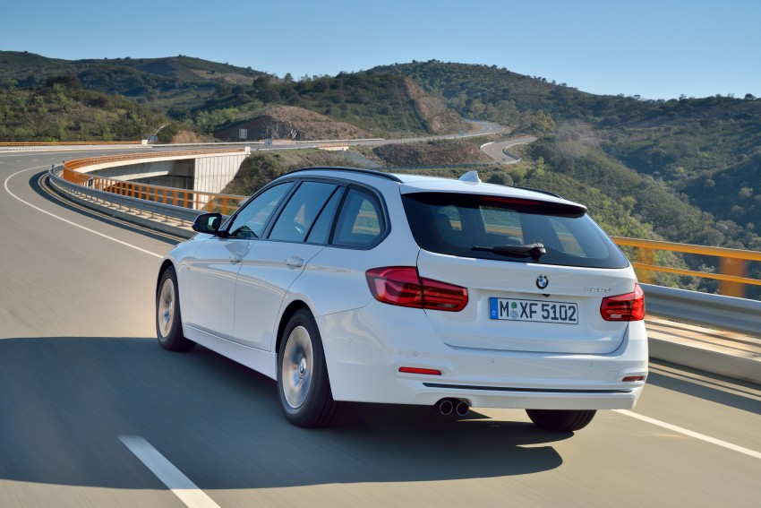 F30 BMW 3 Series LCI unveiled – updated looks, new engine lineup, 330e plug-in hybrid coming 2016 Image #336414