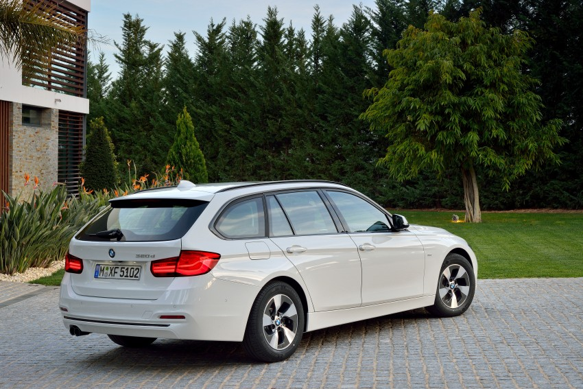 F30 BMW 3 Series LCI unveiled – updated looks, new engine lineup, 330e plug-in hybrid coming 2016 Image #336395