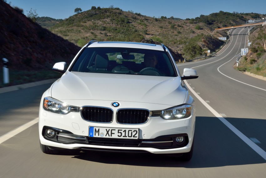 F30 BMW 3 Series LCI unveiled – updated looks, new engine lineup, 330e plug-in hybrid coming 2016 Image #336410