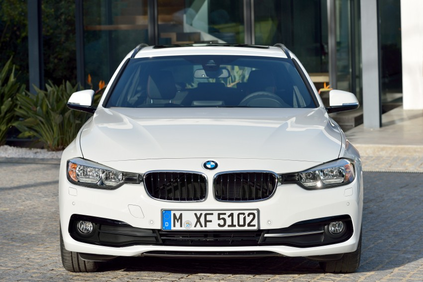 F30 BMW 3 Series LCI unveiled – updated looks, new engine lineup, 330e plug-in hybrid coming 2016 Image #336419