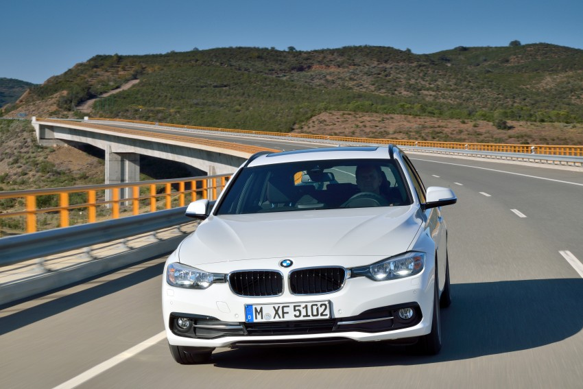 F30 BMW 3 Series LCI unveiled – updated looks, new engine lineup, 330e plug-in hybrid coming 2016 Image #336407