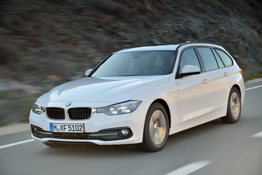 F30 BMW 3 Series LCI unveiled – updated looks, new engine lineup, 330e plug-in hybrid coming 2016 Image #336416