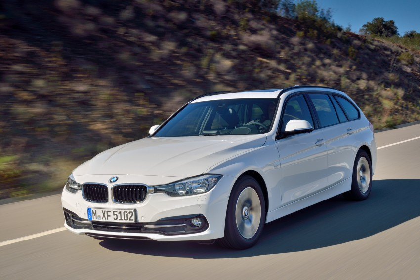 F30 BMW 3 Series LCI unveiled – updated looks, new engine lineup, 330e plug-in hybrid coming 2016 Image #336408