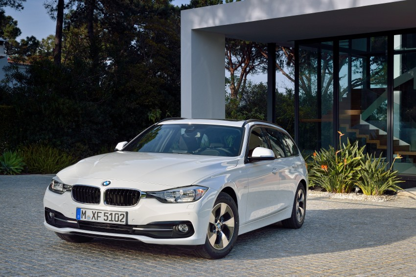 F30 BMW 3 Series LCI unveiled – updated looks, new engine lineup, 330e plug-in hybrid coming 2016 Image #336396