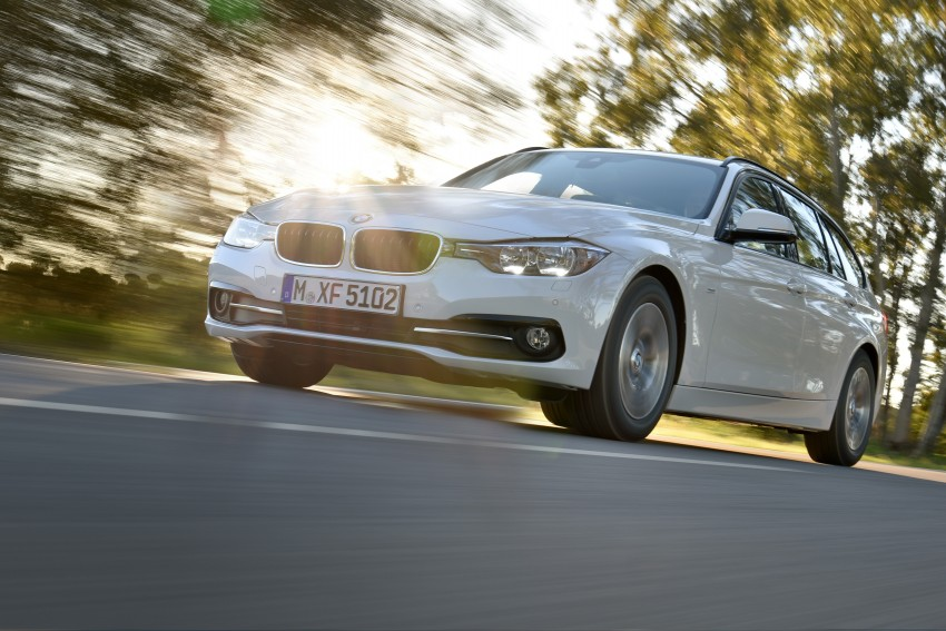 F30 BMW 3 Series LCI unveiled – updated looks, new engine lineup, 330e plug-in hybrid coming 2016 Image #336412