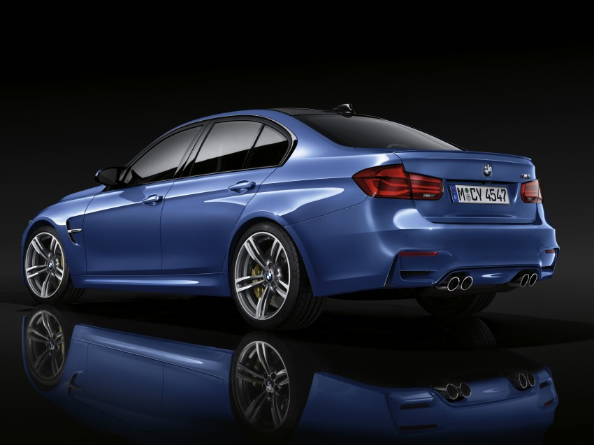 F30 BMW 3 Series LCI unveiled – updated looks, new engine lineup, 330e plug-in hybrid coming 2016 Image #336464