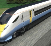 hitachi bullet train