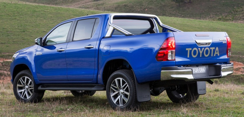 2016 Toyota Hilux – eighth-gen officially unveiled Image #341613