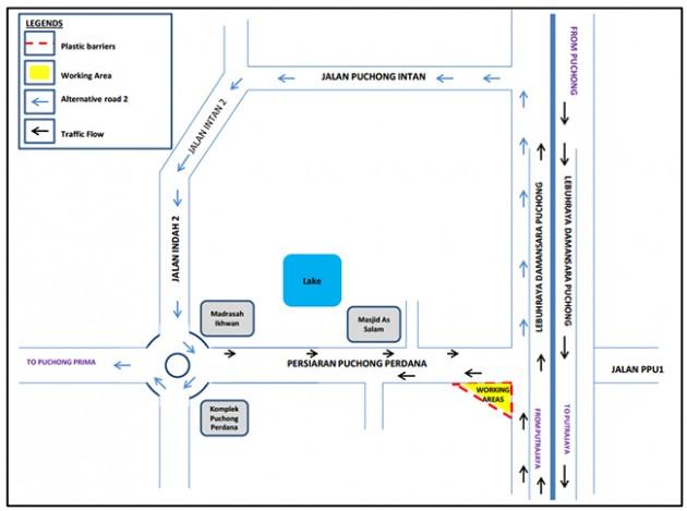 ldp-closure-diversions-puchong-alternative-2