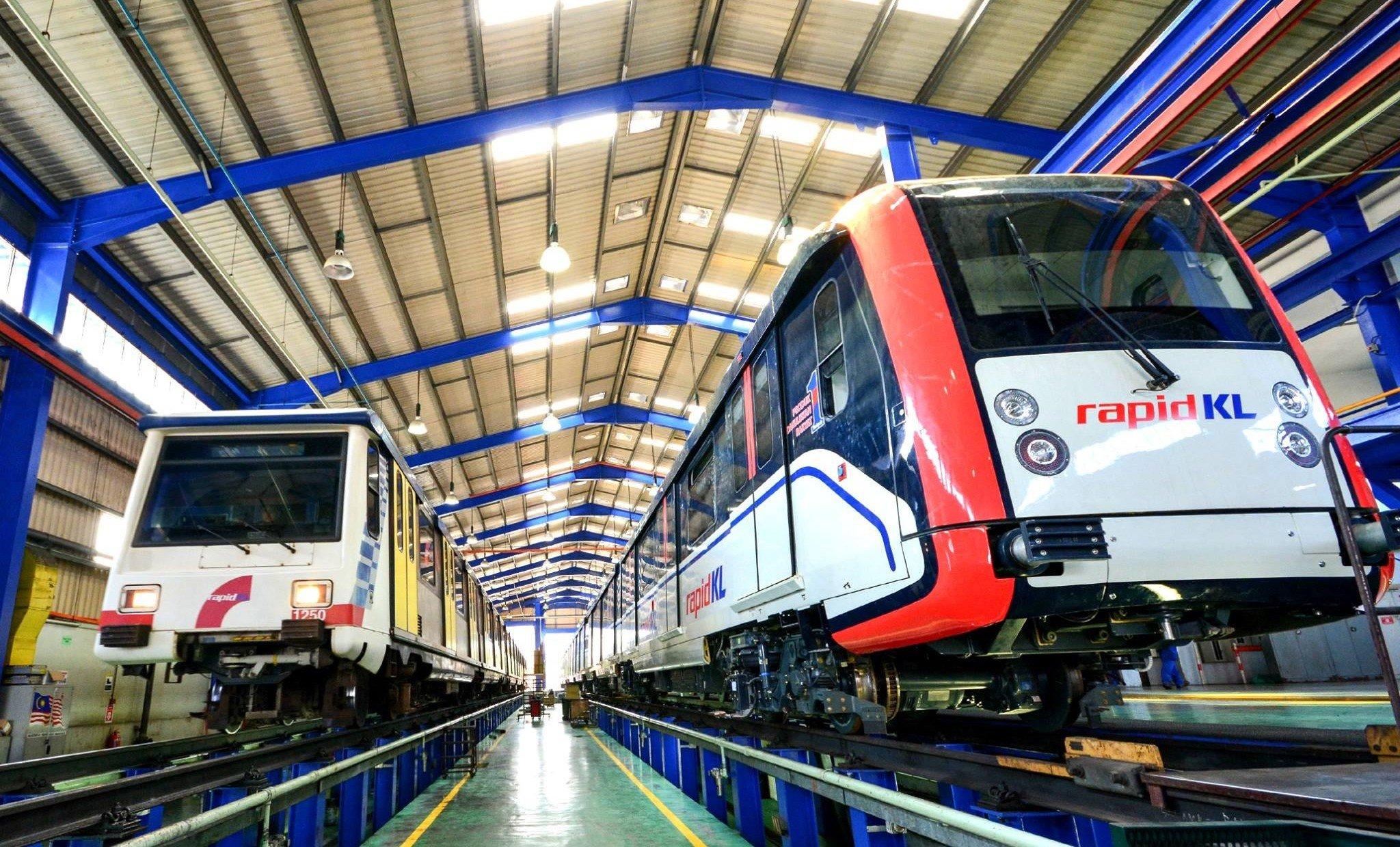 LRT Sri Petaling Line service - direct travel between ...
