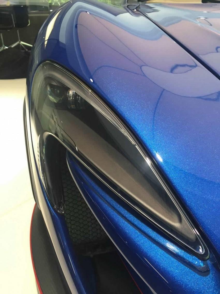 McLaren Special Operations unveils personalised P1 Image #343214
