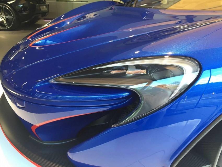 McLaren Special Operations unveils personalised P1 Image #343215