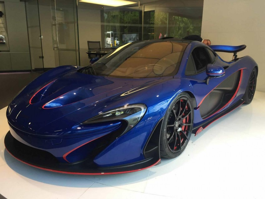 McLaren Special Operations unveils personalised P1 Image #343209