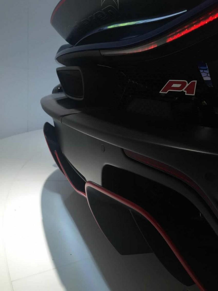 McLaren Special Operations unveils personalised P1 Image #343210