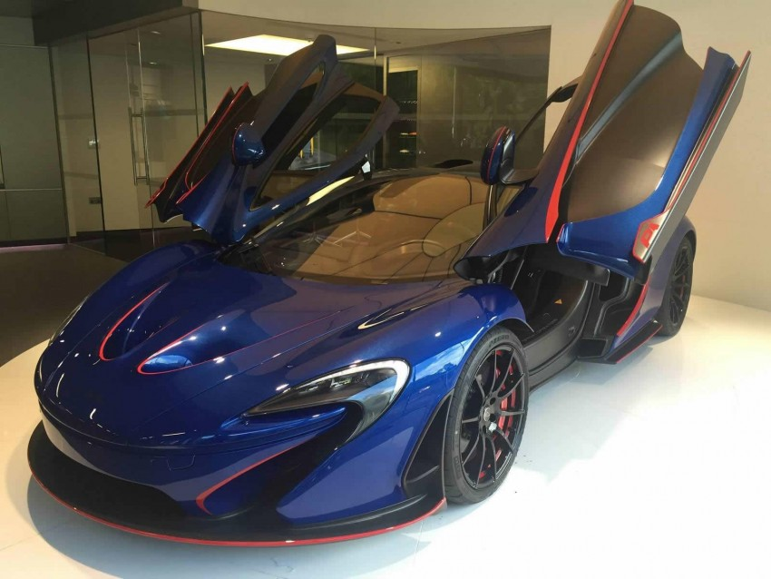 McLaren Special Operations unveils personalised P1 Image #343213