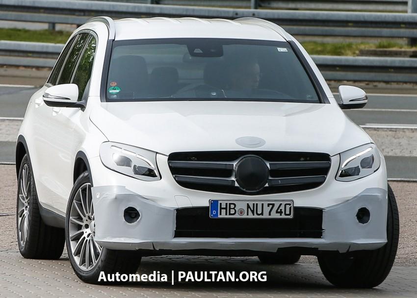 SPYSHOTS: Mercedes-Benz GLC almost undisguised Image #341569