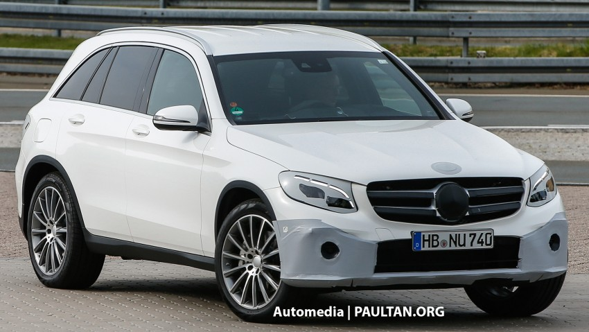 SPYSHOTS: Mercedes-Benz GLC almost undisguised Image #341570