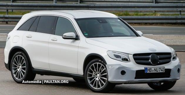 Mercedes-Benz GLC spyshots