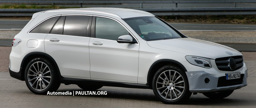 SPYSHOTS: Mercedes-Benz GLC almost undisguised Image #341574