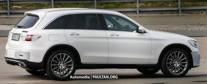 SPYSHOTS: Mercedes-Benz GLC almost undisguised Image #341576