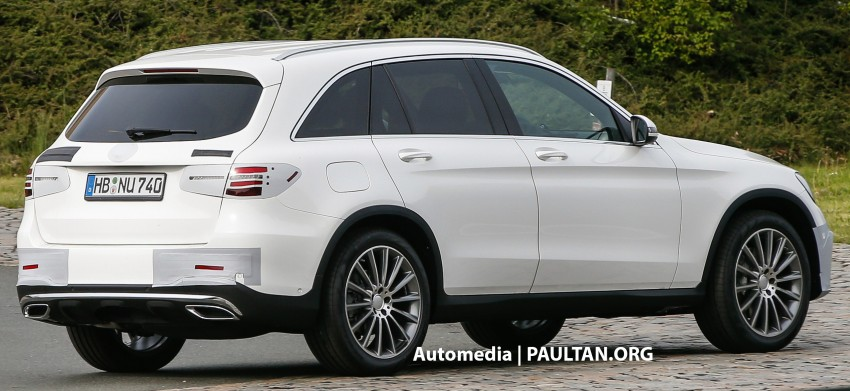 SPYSHOTS: Mercedes-Benz GLC almost undisguised Image #341577