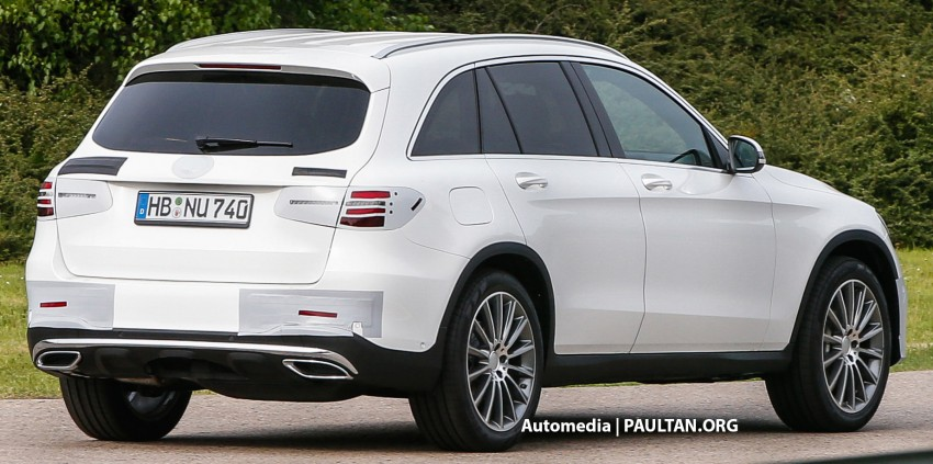 SPYSHOTS: Mercedes-Benz GLC almost undisguised Image #341578