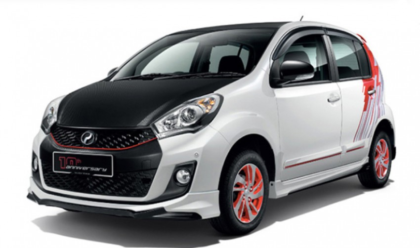 Perodua Myvi celebrates 10th anniversary – limited edition Commemorative Myvi revealed, 10 units only Image #342443