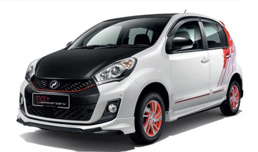 Perodua Myvi celebrates 10th anniversary – limited edition Commemorative Myvi revealed, 10 units only Image #342443