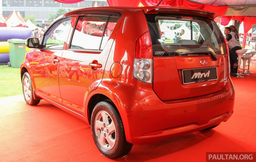 GALLERY: Perodua Myvi – 10 years of moving M'sia Image #342634
