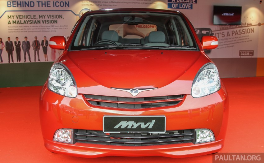 GALLERY: Perodua Myvi – 10 years of moving M'sia Image #342635