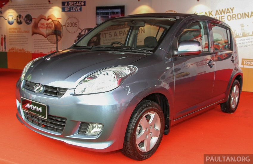 GALLERY: Perodua Myvi – 10 years of moving M'sia Image #342638