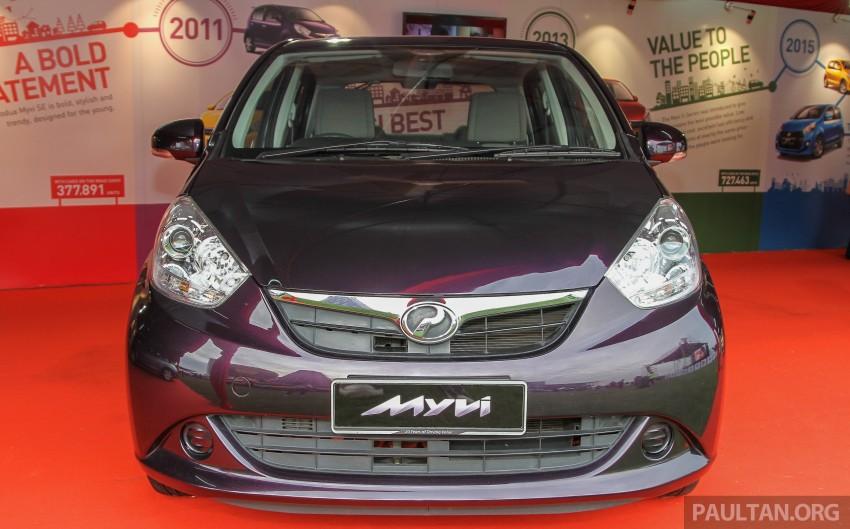 GALLERY: Perodua Myvi – 10 years of moving M'sia Image #342645