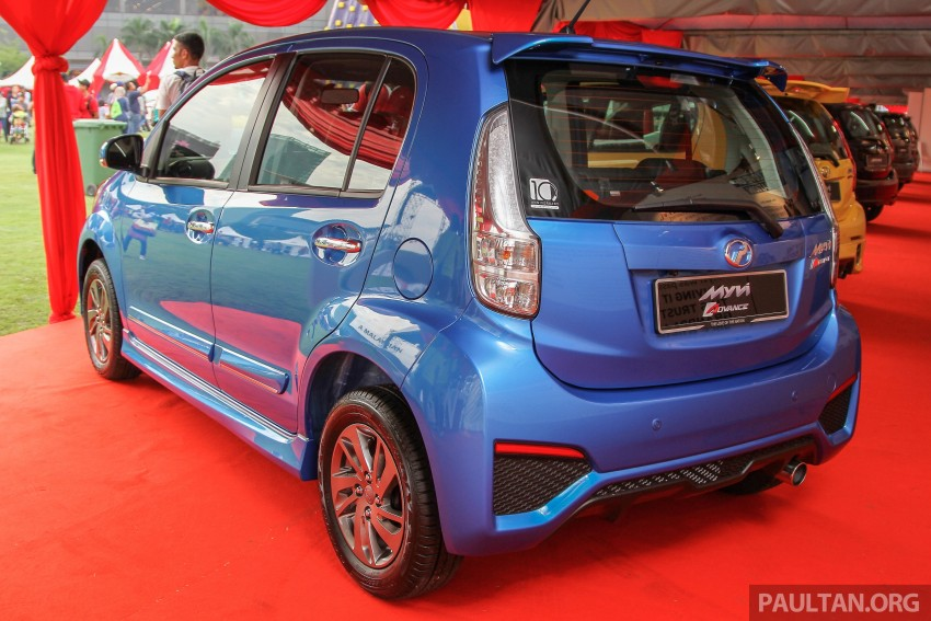 GALLERY: Perodua Myvi – 10 years of moving M'sia Image #342667