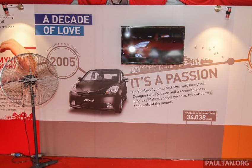 GALLERY: Perodua Myvi – 10 years of moving M'sia Image #342671